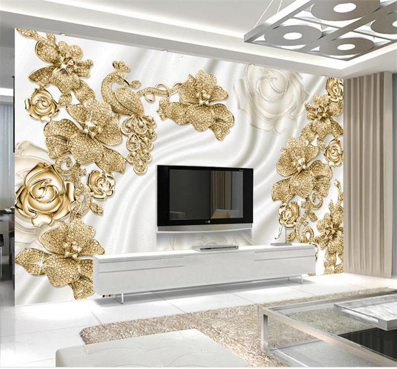 3d wallpaper photo wallpaper custom living room mural high-grade gold gem 3d painting sofa TV background wall non-woven sticker custom vintage non woven wallpaper mural 3d car wall wallpaper ktv restaurant bar cafe background wall painting for living room