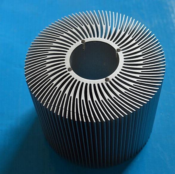 Brillant 5 Pièces Led Radiateur/tournesol Radiateur Aluminium Radiateur Diamètre: 90mm, Creux 32mm Double Feuille, Haut 10mm Led Lumières Dissipateur Thermique Vente En Ligne Du Dernier ModèLe En 2019 50%