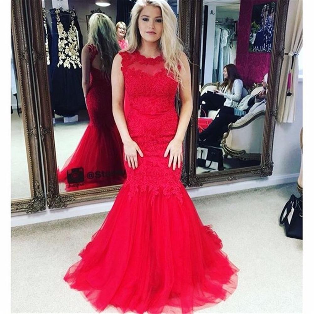 Robe Sirene Longue Invite De Mariage Rouge Longue Robe
