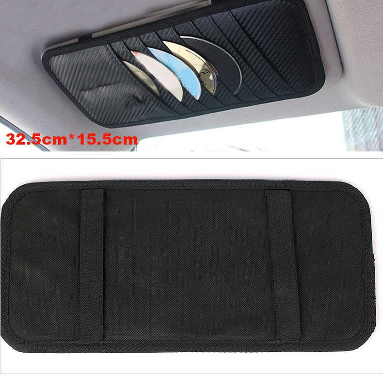 10 шт. автомобильный солнцезащитный козырек CD DVD держатель для карт для Renault peugeot Mitsubishi Honda opel Batman Umbrella ralliart abarth mugen