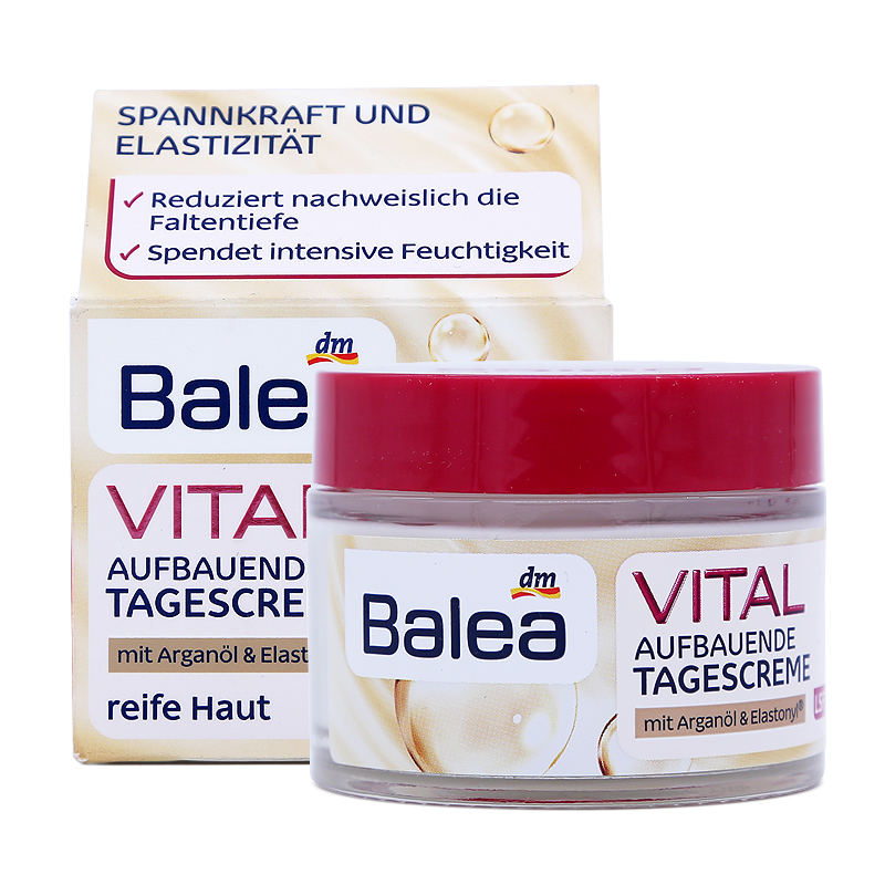 Balea Vital Baobab Upliffing SPF15 Day Cream for Women Mature Skin 40+Years Anti Aging Wrinkles Elasticity Firmness