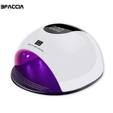 hot deal buy bfaccia 80w uv led lamp nail dryer manicure sun light lamp for nail curing all gel polish sensor machine nail art led dryer tool