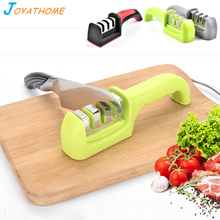 Joyathome Fast 3 Stages Knife Sharpener Ceramic Multi-Function Handheld Kitchen Tools Gadgets  Accessories
