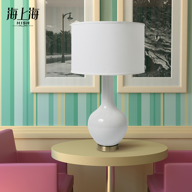 Sea Shanghai Simple Modern Ceramic Table Lamp Creative Lamp Antique