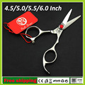 4.5/5.0/5.5/6.0 inchProfessional Hairdressing Scissors Hair Cutting Barber Shears Cutting Scissor Salon Equipment Tools