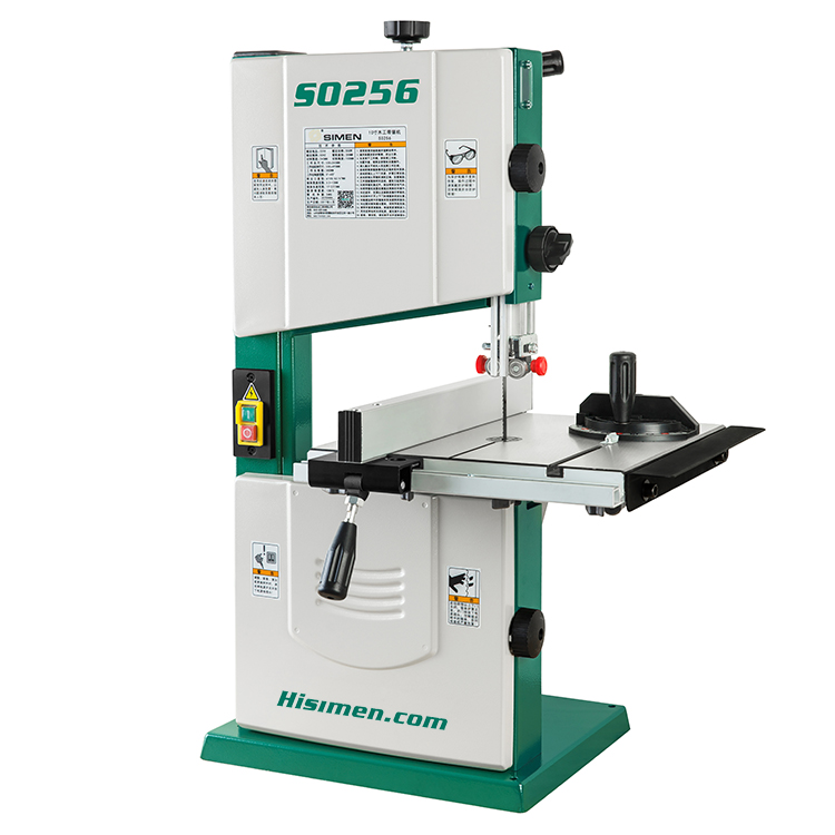 550W 10 - inch band sawing machine S0256 band saw joinery sawing machine metal saw machinery portable sawing machine low noise small metalworking sawing machine with english manual
