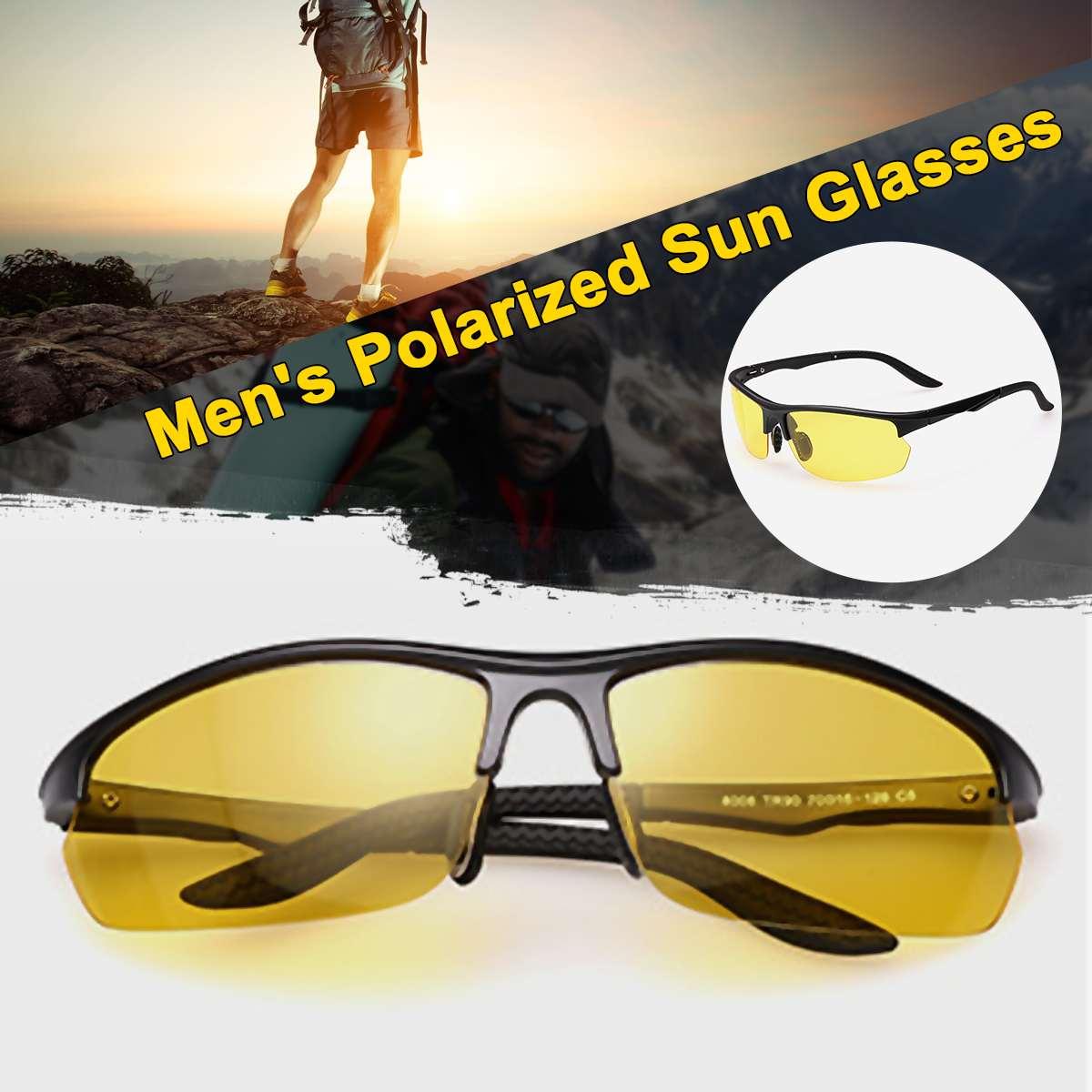 PERFE TR90 Men/'s Polarized Sunglasses Outdoor Fishing Riding Travel Glasses New