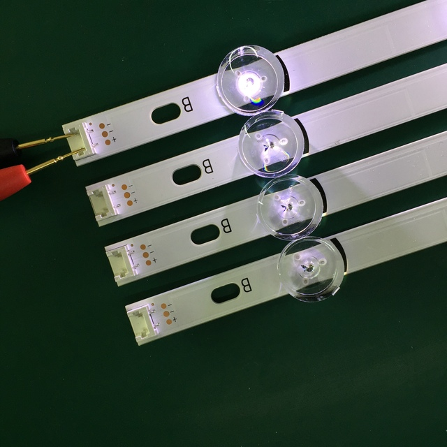 LED Backlight Lamp strip 8 leds For LG 42LY320C LC420DUE INNOTEK DRT 3.0 42 inch TV 42LY540H 42LF652V 42LF653V 42LB5510 2