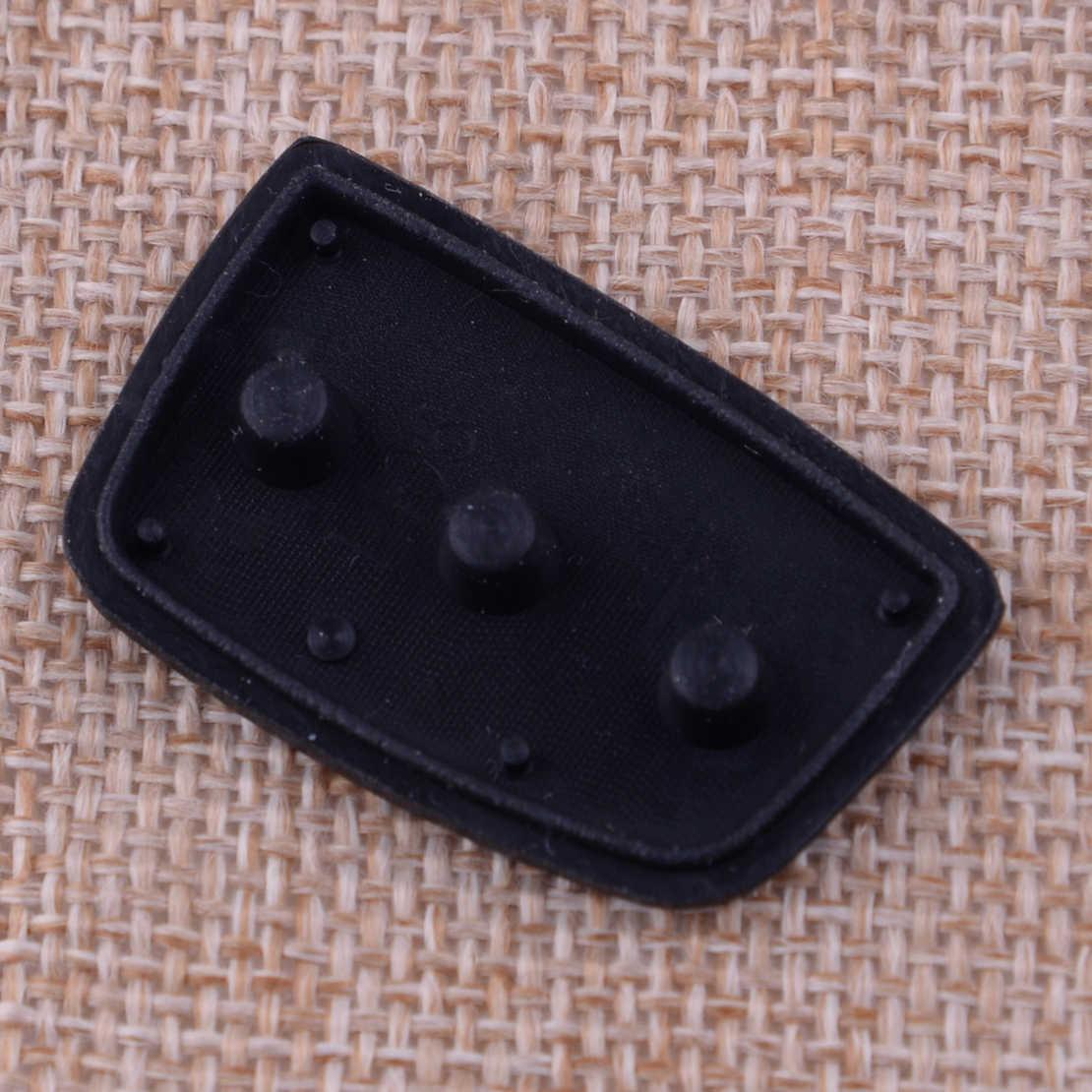 CITALL 3 boutons Silicone à distance clé bouton protection coquille Fob ajustement pour Hyundai Tucson Santa fe Creta Elantra I20 2013-2019