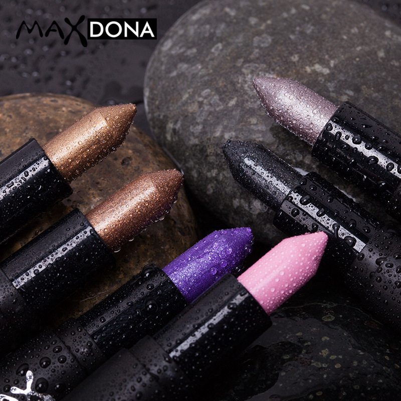 New Hot Double-end Shimmer Eyeshadow Pencils for Women Eyes Face Brighten White Glitter Highlighters Eye Shadow Make Up 6