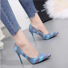 Women Pumps Extrem Sexy High Heels Women Shoes Thin Heels Female Shoes Wedding Shoes Gold Sliver White Ladies Shoes women pumps extrem sexy high heels women shoes thin heels female shoes wedding shoes sequins gradient color hollow ladies shoes