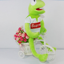 Hot 40cm Frog plush toys doll animal Kermit frog plush Kids Gift