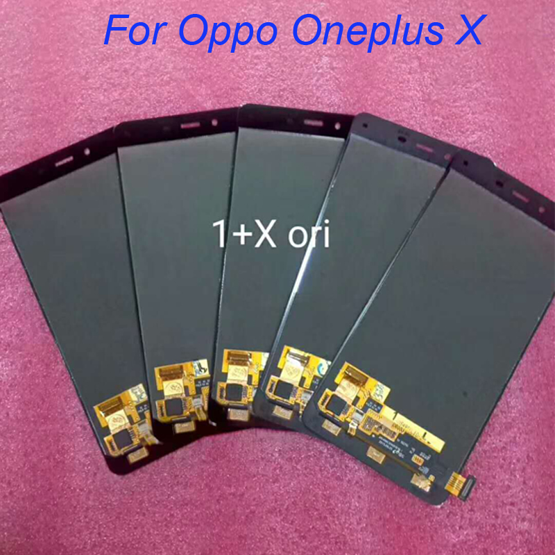 5pcs/lot For Oneplus X LCD Display with Touch Screen Digitizer Assembly LCD Replacement Black White Color IN Stock