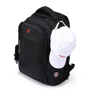 Image 4 - Anti Theft Oxford Business Backpack Men External Charging USB Function Laptop Backpack Swiss Waterproof Travel bag 17 inch women