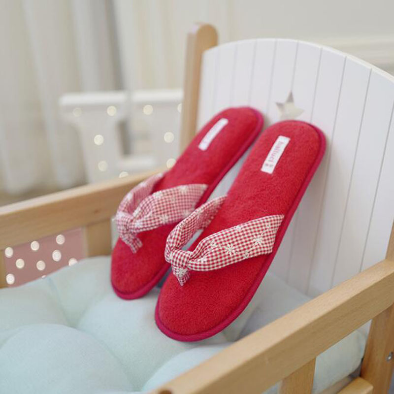 halluci Cotton Women Thong Slippers Summer Shoes Home House ...