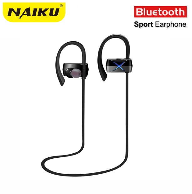 New Y100 Sports In-Ear Wireless Bluetooth Earphone Stereo Earbuds Headset Bass Earphones with Mic for iPhone 6 Samsung Phone