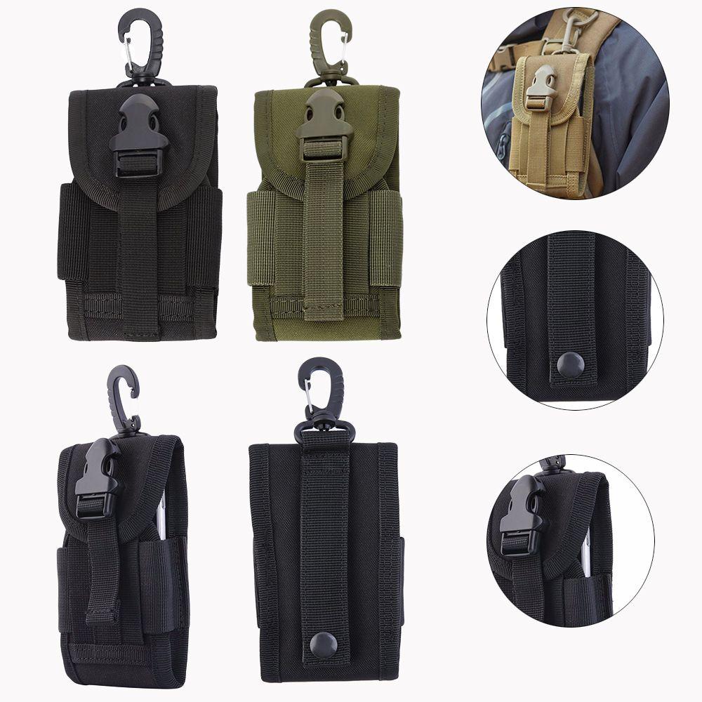 2018 Holster Molle Armee Camo Camouflage Tasche Haken Schleife Gürteltasche Holster Handy Taille Gürteltasche