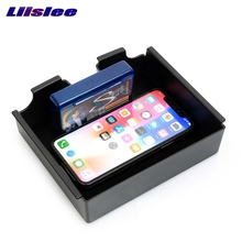 Qi Wireless Charger Interior Storage Box For Land Rover Discovery Sport Charging