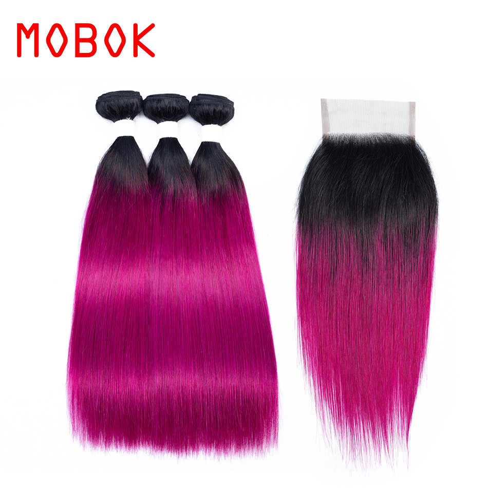 Latest Collection Of Mobok 3 Bundles Brazilian Hair Weave Bundles Sale 10-20 Inch Straight Human Hair Bundles Non Remy Hair Extensions Ot Rose Red At All Costs Hair Extensions & Wigs Hair Weaves