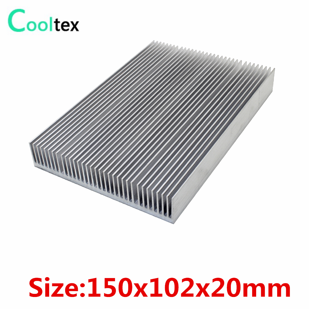 (High power) 150x102x20mm Aluminum HeatSink heat sink radiator for LED chip Electronic cooler cooling high power 125x125x45mm aluminum heatsink heat sink radiator for electronic chip led cooler cooling recommended