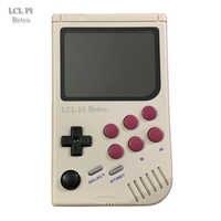 LCL-Pi-Retro Raspberry Pi para gameboy consola de juegos portátil con Super IPS/Shock joystick/chico pi 3B/B + 64G color clásico