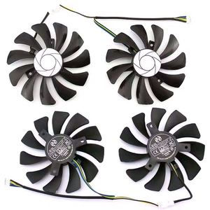 Image 2 - HA9010H12F Z de 85MM para XFX RX 560D RX 570 RX 580, 4 pines, tarjeta de vídeo gráfica, ventiladores refrigeración, PC, DIY