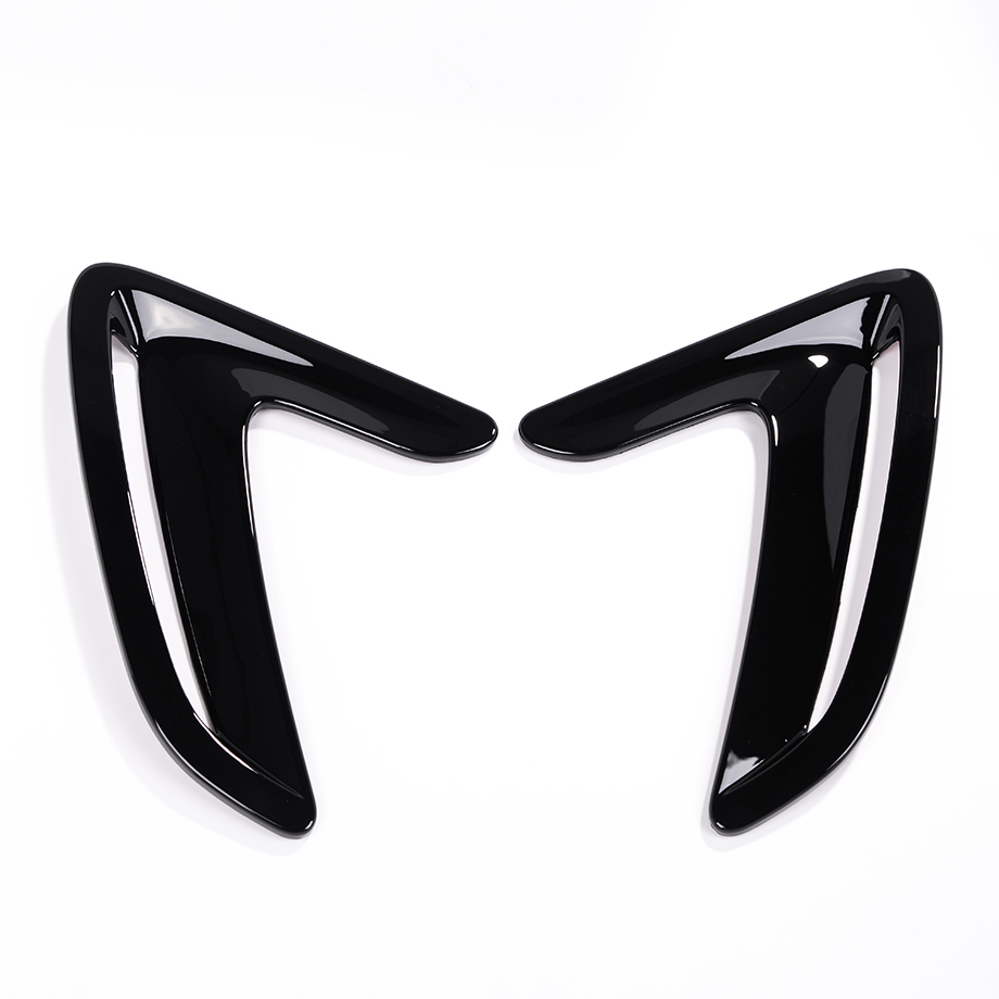 Car styling Black Side Air Fender Sticker For BMW 3 Series GT 316 318 320 2013 2014 2015 2016 Car Accessories