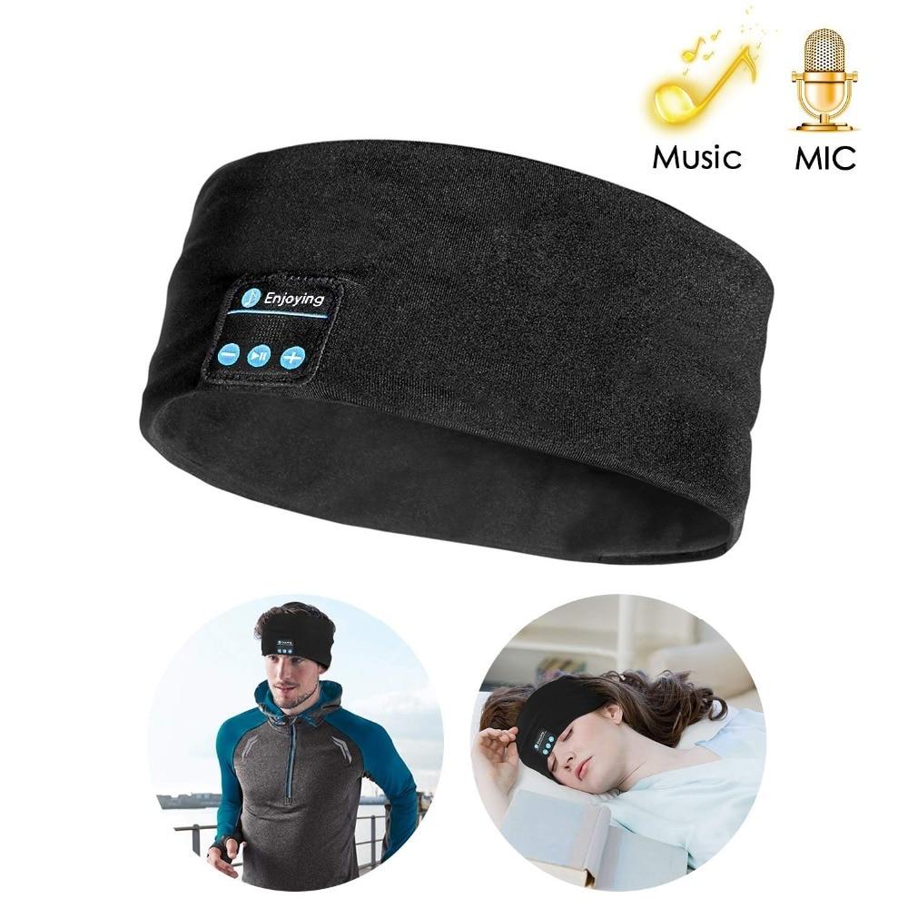 @1  Bluetooth наушники с наушниками  беспроводные музыкальные спортивные наушники  спальные наушники  дл ✔