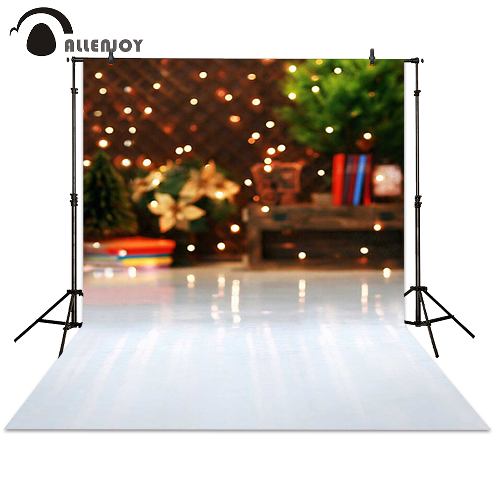 Allenjoy photography backdrop Christmas gift bokeh backgrounds photocall photographic photo studio baby newborn allenjoy christmas photography backdrop halo golden luxury blur children s camera photocall photographic festive