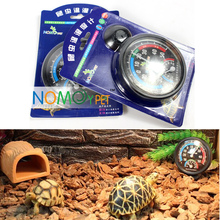 2016 New Pet Supplies Insects Reptile Terrarium box thermometers spider tortoises lizards snakes 2in1 hygrometer thermometer