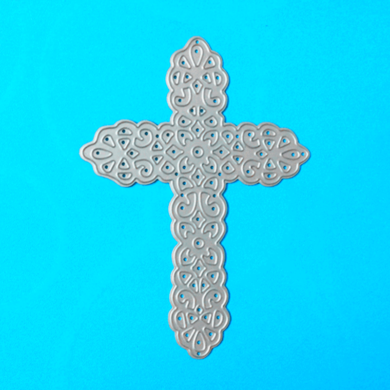 YLCD168 Cross Metalen Stansmessen Voor Scrapbooking Stencils DIY Album Kaarten Decoratie Embossing Map Die Cuts Template Mold