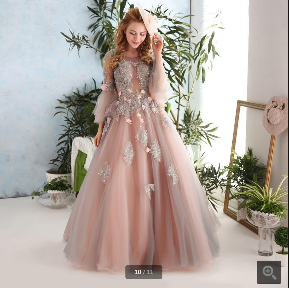 Popular peach bridal dresses buy cheap peach bridal for Peach dresses for wedding