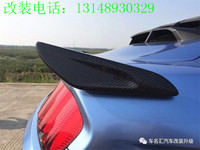 Fit for Ford Mustang 15 17 carbon fiber tail spoiler wing