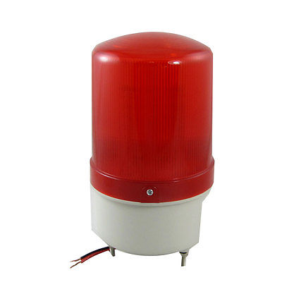 DC 24V Red LED Signal Industrial Warning Light Bulb Flash with Buzzer dc24v tower buzzer warning red green led industrial warning light