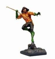 Aquaman Statue Action Figure 1/10 scale painted figure Fighting Ver. Justice League Aquaman PVC figure Toy Brinquedos Anime
