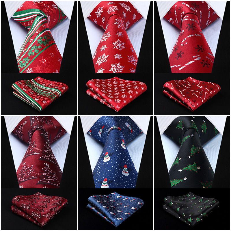 Classic Party Wedding Christmas Tie Gift 3.4
