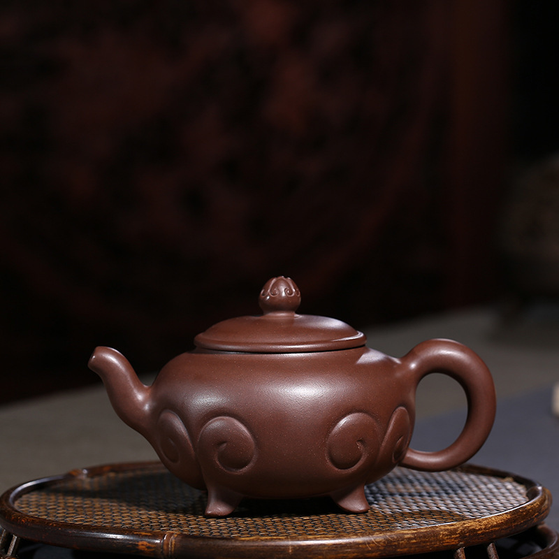 Raw Ore Bottom Groove Clear Purple Ink For Imprinting Of Seals As One Wishes Will Bin Pot Kungfu Online Teapot Tea Set GiftRaw Ore Bottom Groove Clear Purple Ink For Imprinting Of Seals As One Wishes Will Bin Pot Kungfu Online Teapot Tea Set Gift