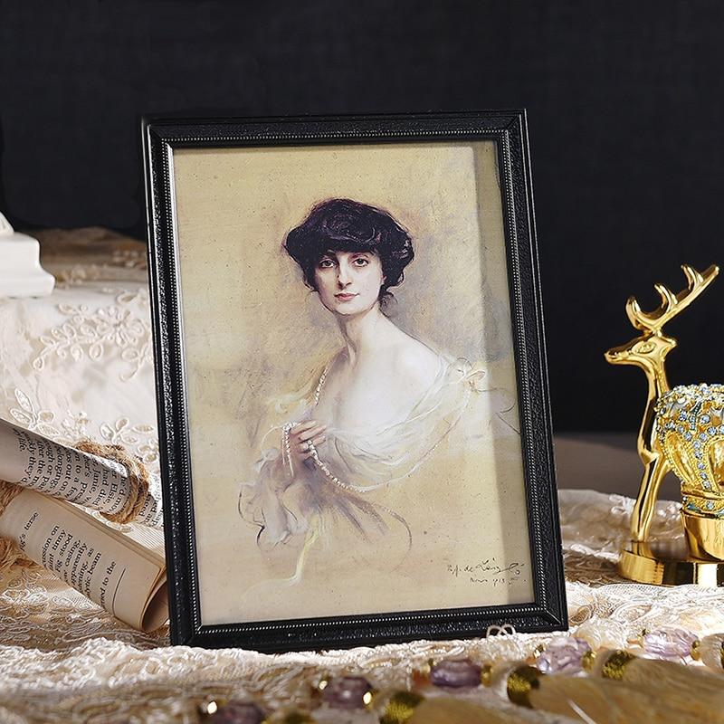 Adous American Retro современный Алмазный жемчужный фон фото стена модель номер Украшение Рабочего Стола Фото Рамки