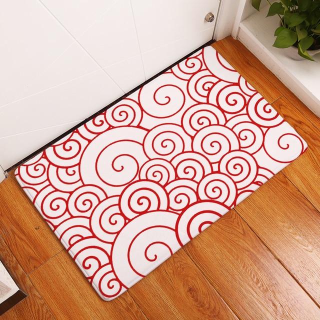 2017 New Good Luck Print Carpets Non Slip Kitchen Rugs For Home Living Room Floor