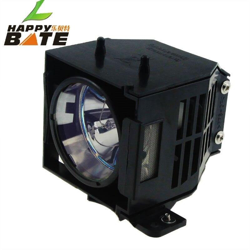 Happybate elplp45/v13h010l45 Замена ТВ лампы проектора/лампа с Корпус для EMP 6110i/EMP-6110 180 дней после доставки