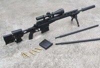 1 6 Scale Black X TOYS US Army MSR Toy Remington Modular Sniper Rifle USMC F