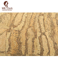"Portuguese cork Brown mix natural cork fabric Cork leather, Environmentally Natural material 68x50cm / 27.50""x20"", Cor-005"
