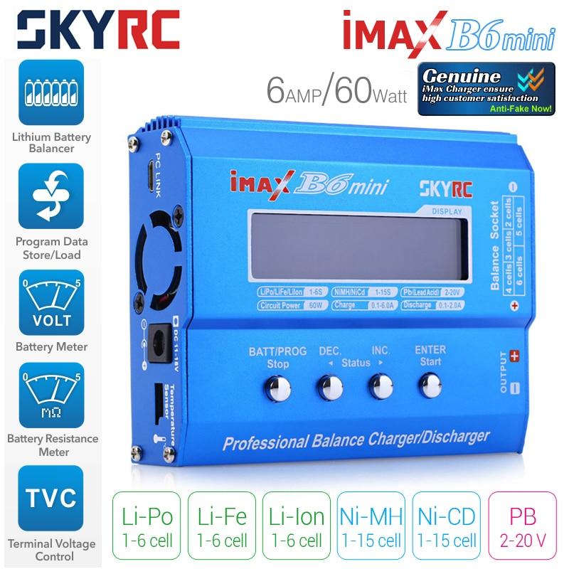 Зарядо-разрядное устройство SkyRC IMAX B6 MINI прийти с наклейку идентификатор подлинность