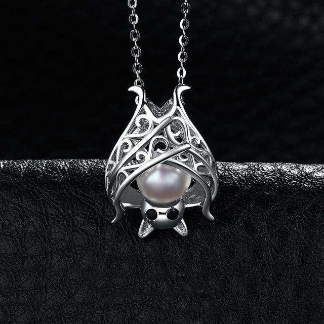 Sapphire Pearl Pendant