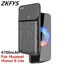 ZKFYS 4700mAh High Quality Phone Charger Battery Case For Huawei Honor 8 Lite Ultra Thin Power Bank Charging
