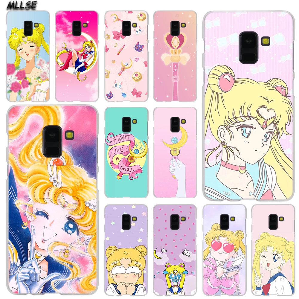 Phone Bags & Cases Mllse Anime Sailor Moon Fashion Case Cover For Samsung Galaxy A6 A8 Plus A9 A7 2018 A5 2016 2017 A6s A9star Note9 8 5 4 Hot