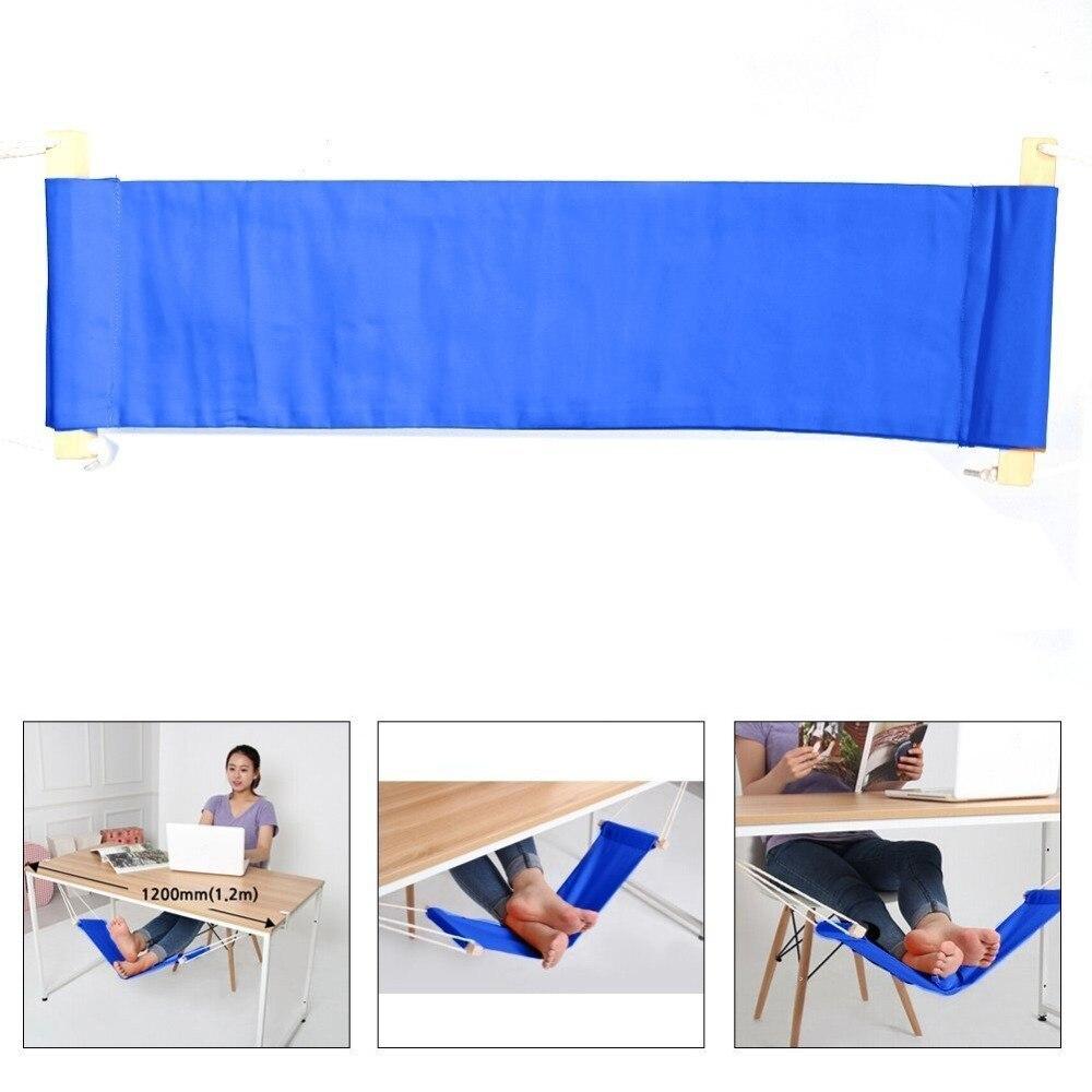 wellsem foot rest stand adjustable desk feet hammock put your foot up on the hammock under the desk comfortable