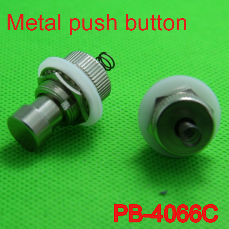 50 pcs Metal Soft Touch Push Button Stomp Foot Pedal Electric Guitar Switch (Free Shipping)-in Guitar Parts & Accessories from Sports & Entertainment    1