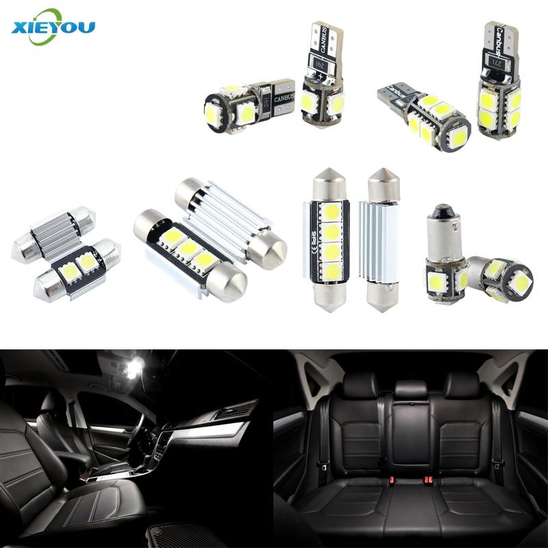 חבילת ערכת אורות פנים LED של Canie 18 - אורות רכב