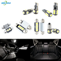 XIEYOU 18pcs LED Canbus Interior Lights Kit Package 2004-2007